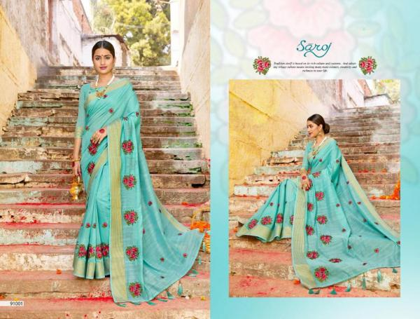 Saroj Saree Swagatam 91001-91006 Series