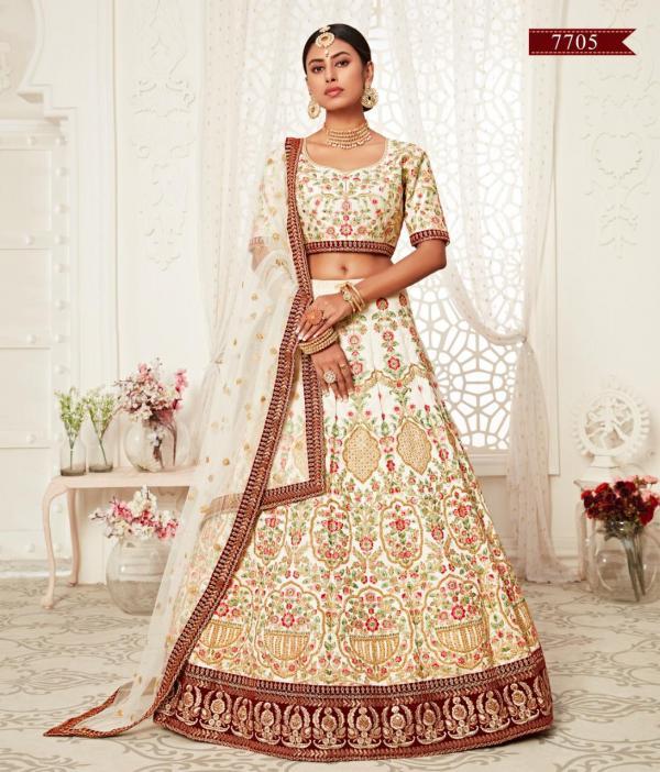Zeel Wedding Lehenga Choli 7705 Design
