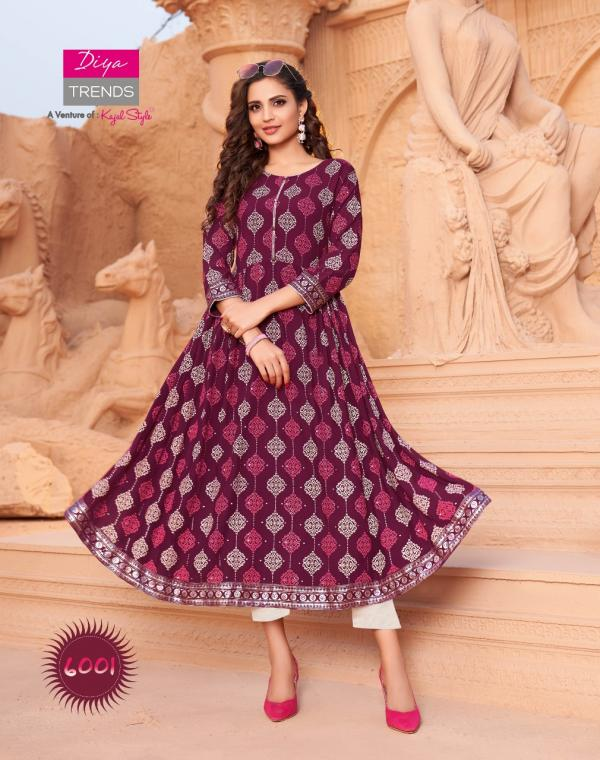 Diya Trendz Ethnic City Vol-6 6001-6010 Series