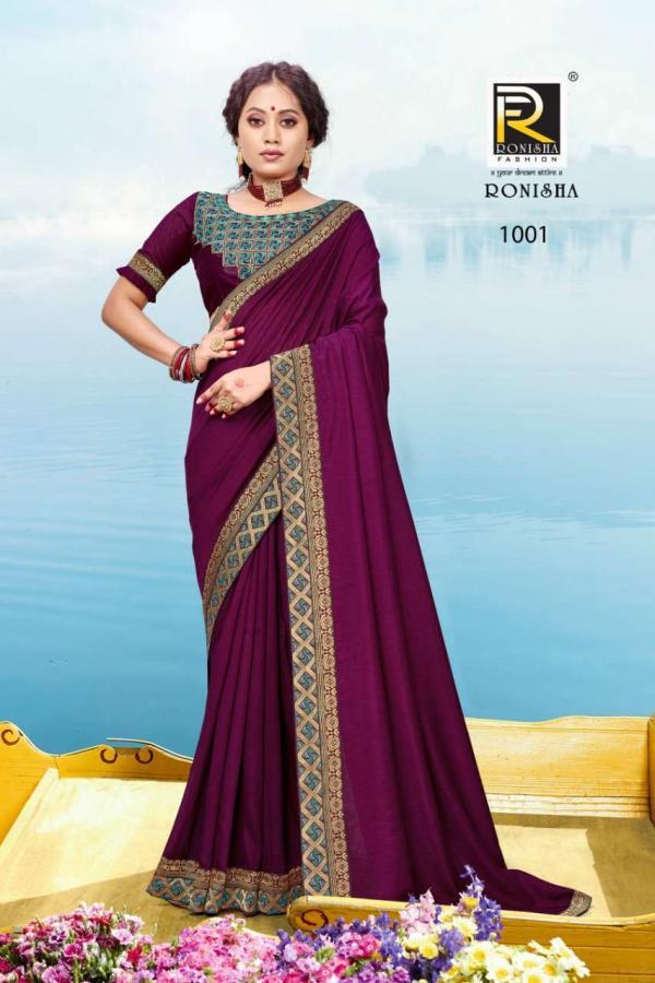 Ranjna Saree Aashna 1001-1008 Series