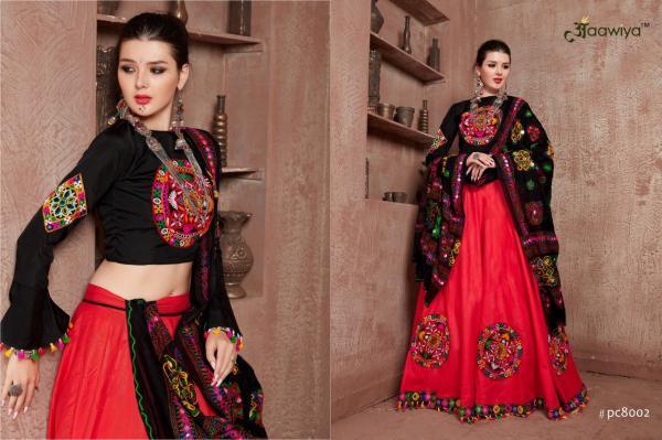 Aawiya Rajwadi PC8002 Colors