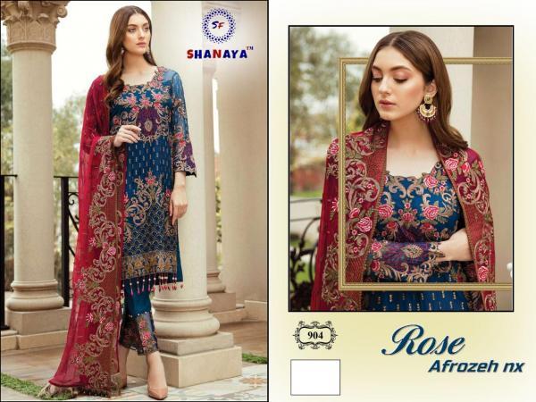 Shanaya Fashion Rose Afrozeh 904 Colors