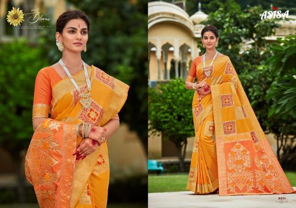 Asisa Saree Charvi 8201-8203 Series
