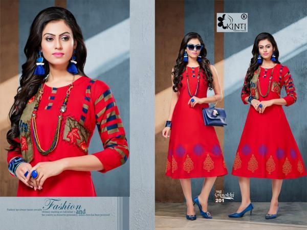 Kinti Fashion Anokhi Vol-2 201-210 Series