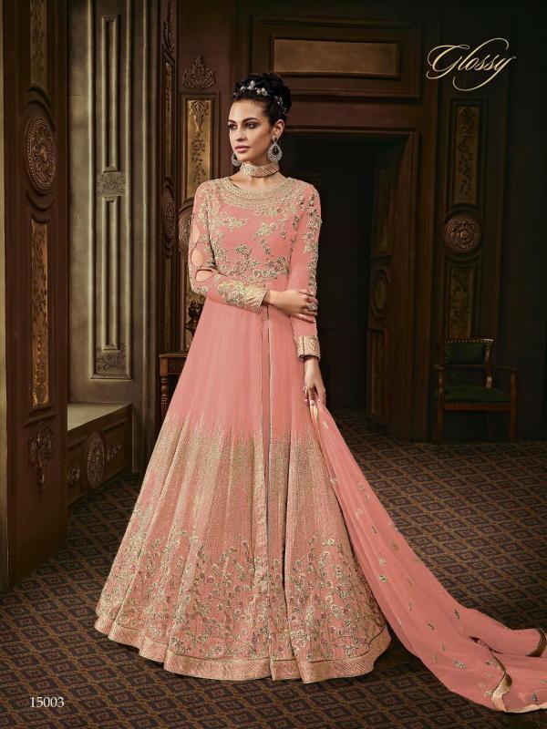 Glossy Majesty 15003 Colors Premium Quality Dress