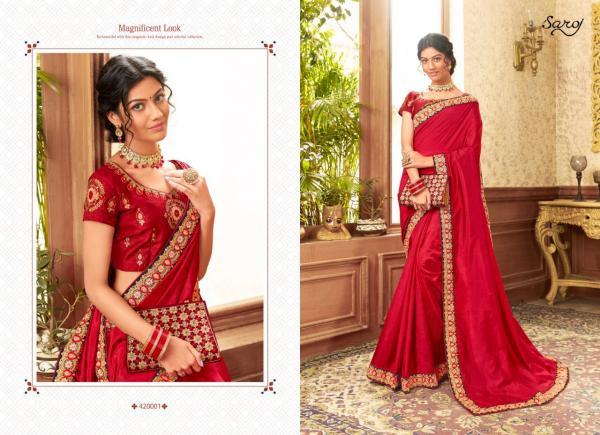 Saroj Saree Charulata 420001-420006 Series