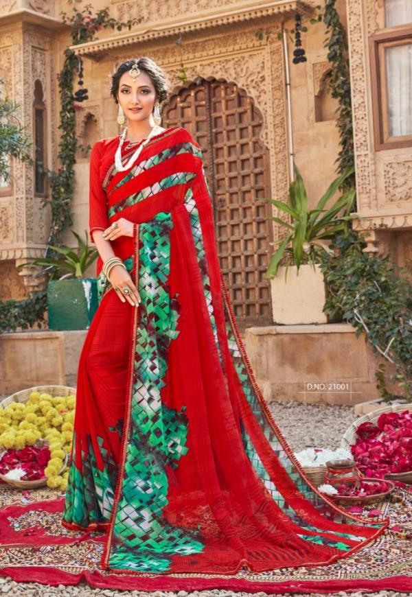 Vinamra Saree Royal Touch 21001-21012 Series