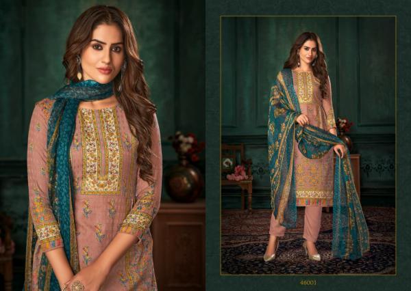 SKT Suits Pakhiza 46001-46008 Series