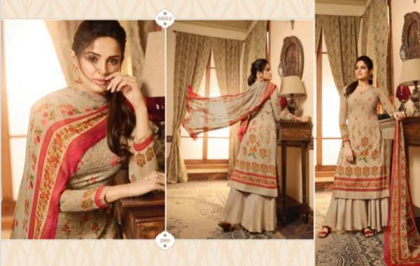 Meera Trendz Zisa Flora Gold 2901-2908 Series