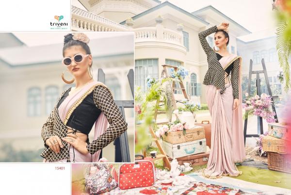 Triveni Saree Guzarish 15401-15406 Series