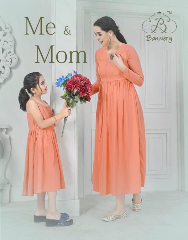 Banwery Fashion Me & Mom 1001-1002 Series