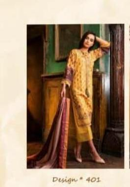Shraddha Designer Sobia Nazir Vital Vol-2 401-406 Series