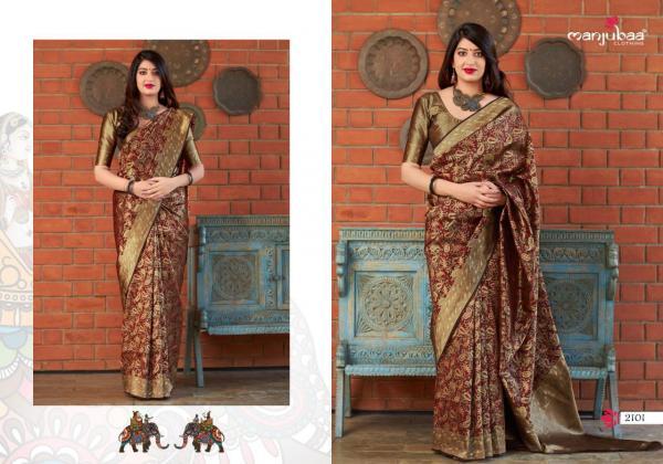 Manjuba Maharani Silk 2101-2110 Series