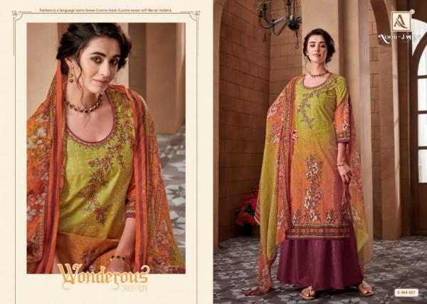 Alok Suits Noor Jahan 464-001-464-008 Series