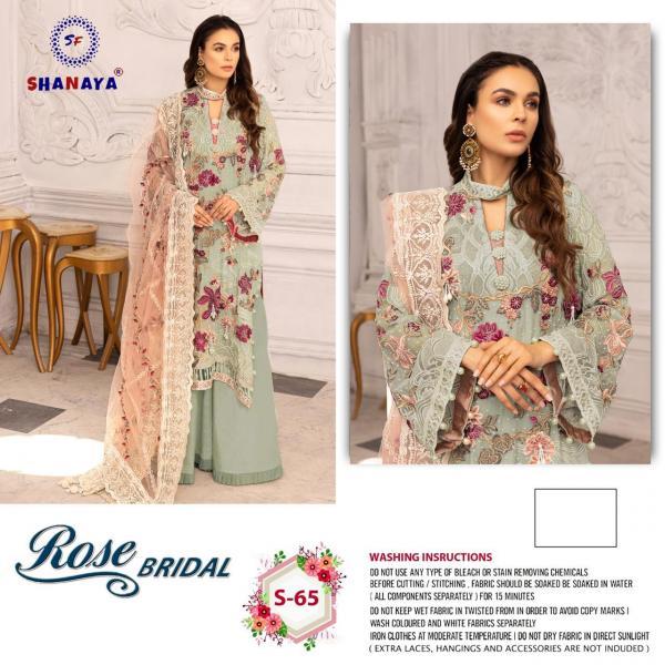 Shanaya Fashion Rose Bridal S-65 Dress Material