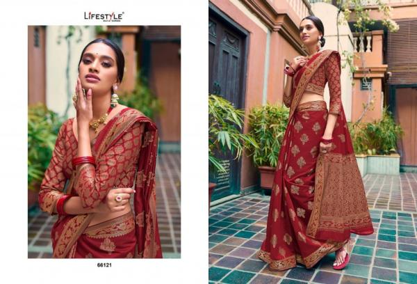 Lifestyle Saree Kabira 66121-66126 Series