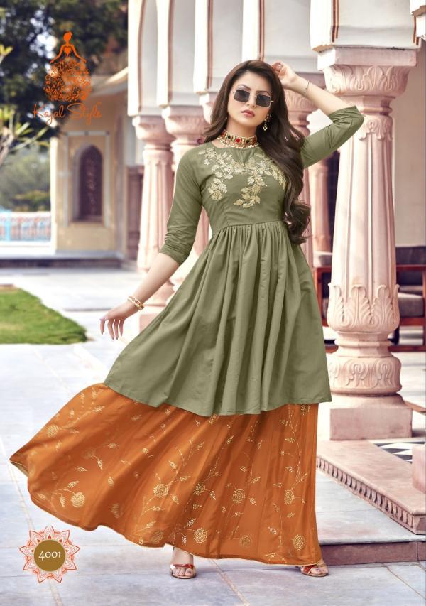 Kajal Style Fashion Lakme Vol-4 4001-4008 Series