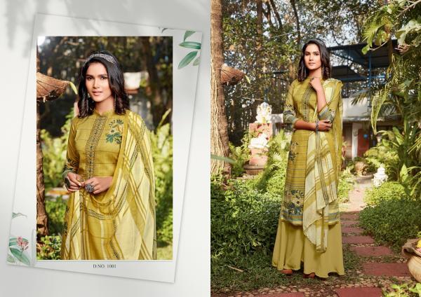 Anita Silk Mills Kesariya Raazi 1001-1008 Series