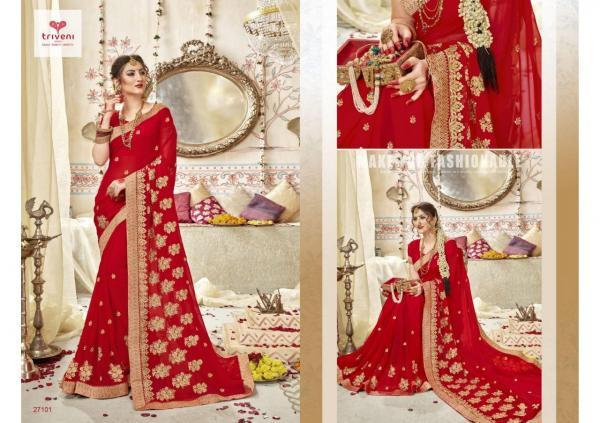 Triveni Saree Swarnpari 27101-27108 Series