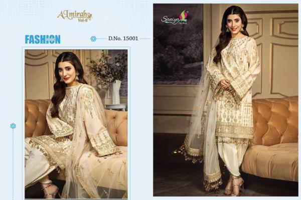 Saniya Trendz Almirah Vol-8 15001-15005 Series