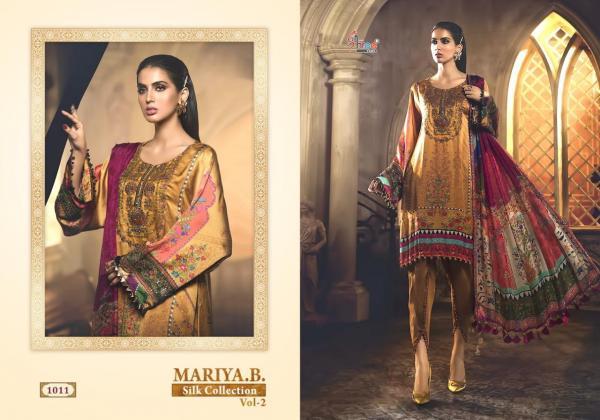 Shree Fabs Mariya B Silk Collection Vol-2 1011-1016 Series