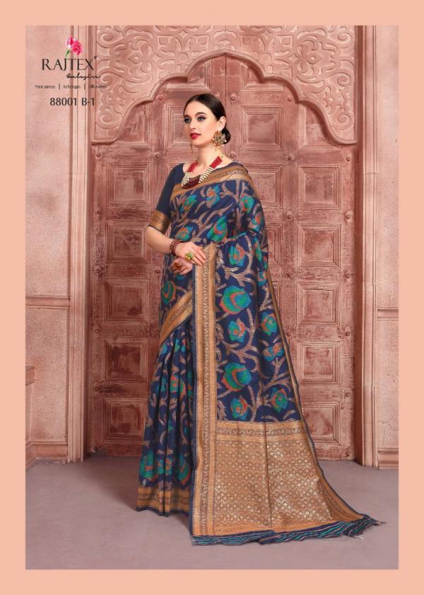 Rajtex Saree Kalyanam Silk 88001 B Colors