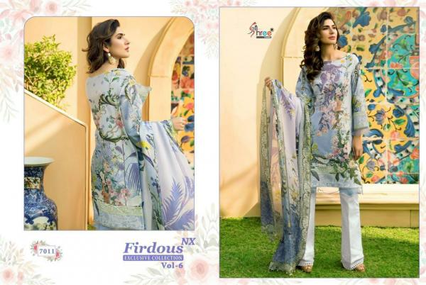 Shree Fabs Firdous Exclusive Collection Vol-6 NX 7011-7017 Series