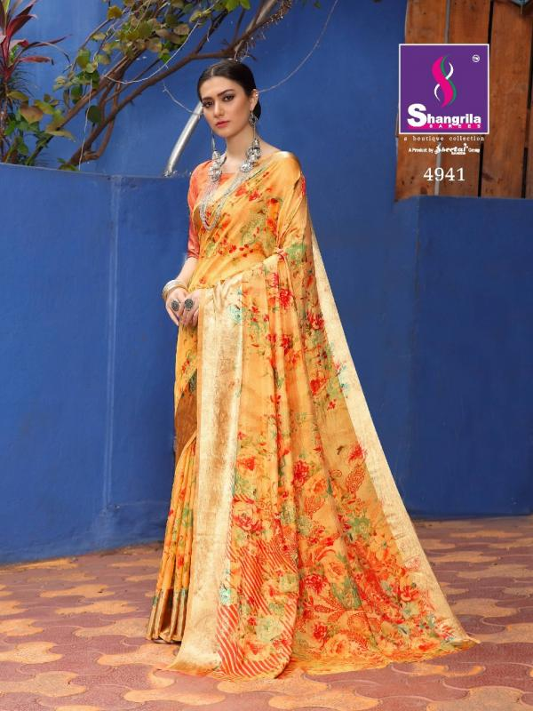 Shangrila Saree Vasundhara 4941-4952 Series