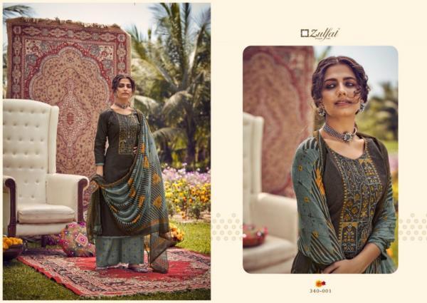 Zulfat Designer Jashn-E-Patiala 340-001 to 340-010 Series