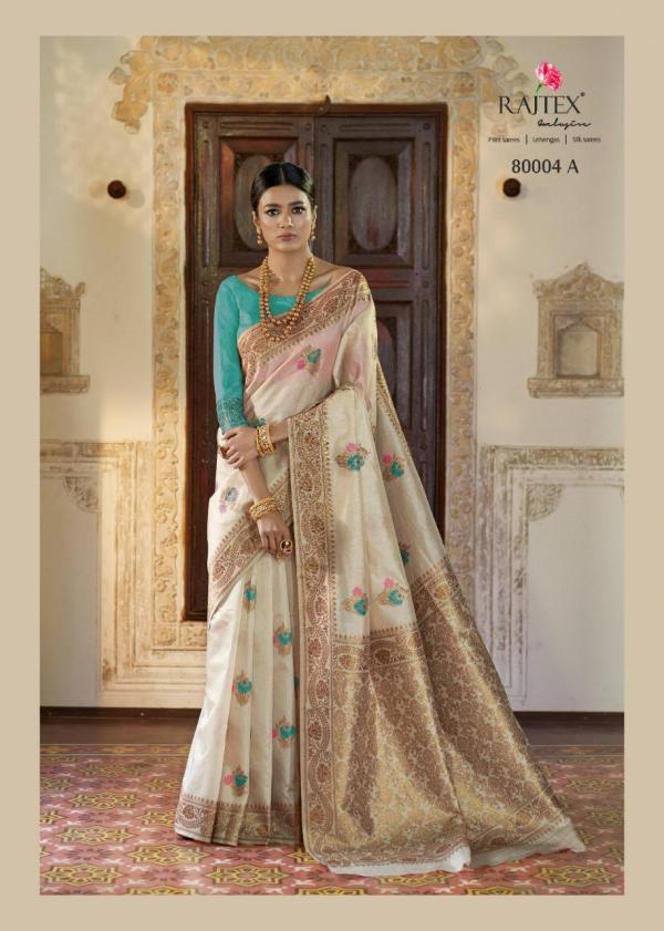 Rajtex Kanshula Silk 80004 Colors