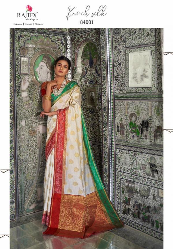 Rajtex Kanch Silk 84001-84010 Series