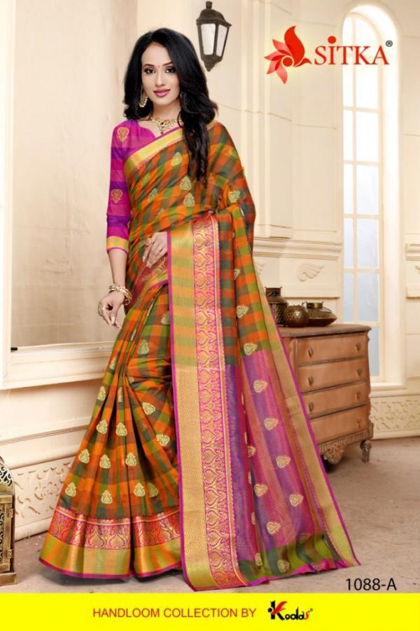 Sitka Saree Air Hostess 1088 ABCD Series
