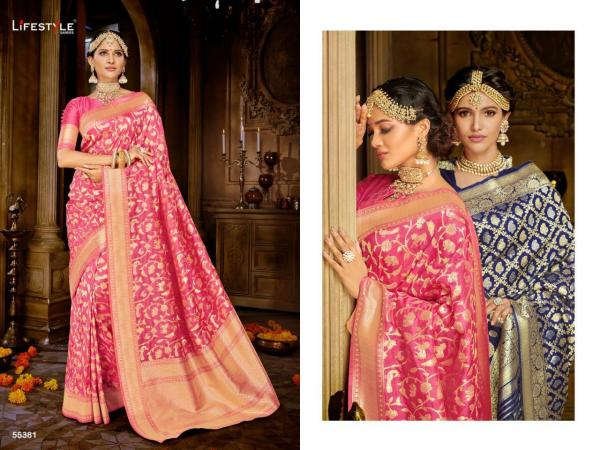 Lifestyle Saree Sakshi 55381-55386 Series