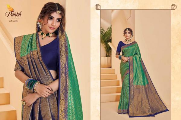 Pankh Creation Amber Silk 201-211 Series