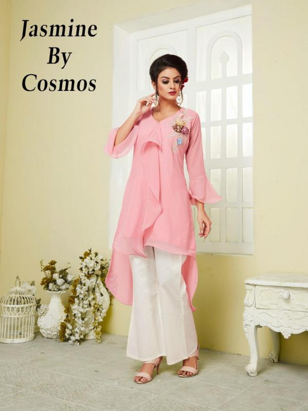 Cosmos Jasmine Designer Festive Formal Wear Tunic Pant