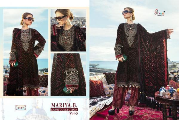 Shree Fabs Maria B Lawn Collection Vol-5 1467-1474 Series