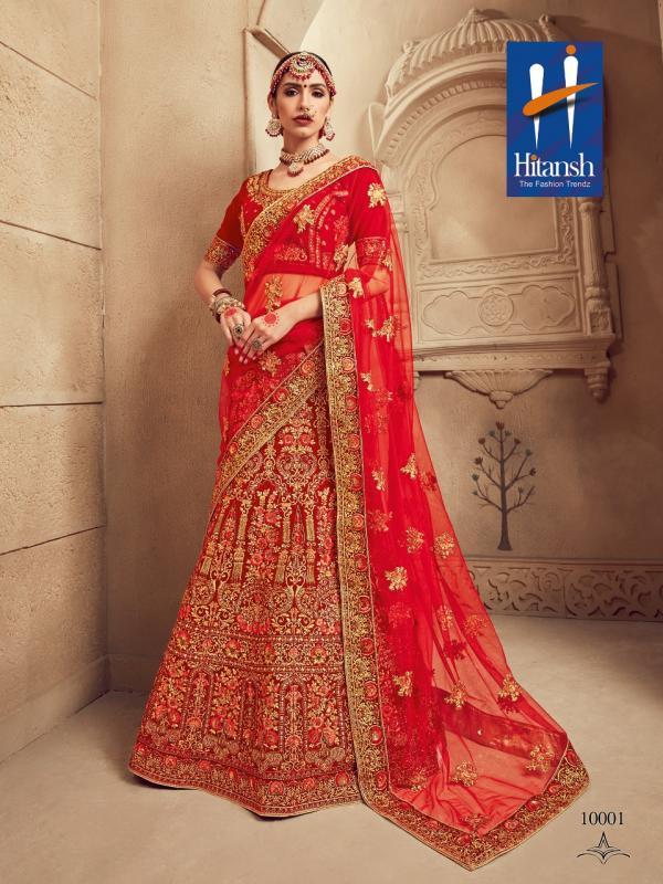 Hitansh Fashion The Royal Bride 10001-10008 Series