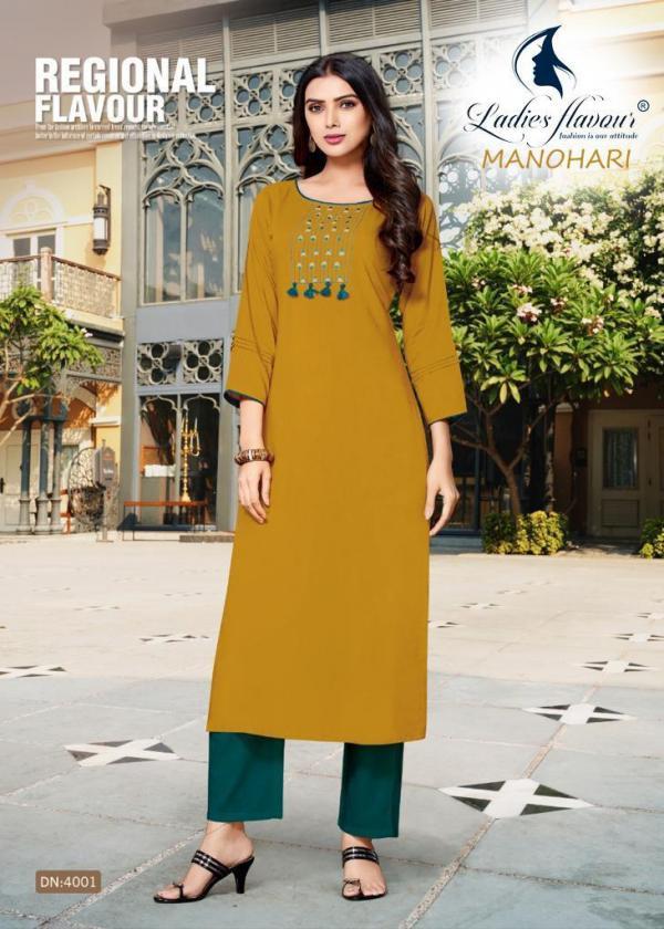 Ladies Flavour Manohari 4001-4011 Series