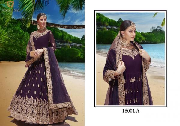 Hoor Tex Bridal collection Vol-1 16001A-16001E Series