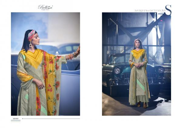 Belliza Designer Tahira 553-001 to 553-008 Series