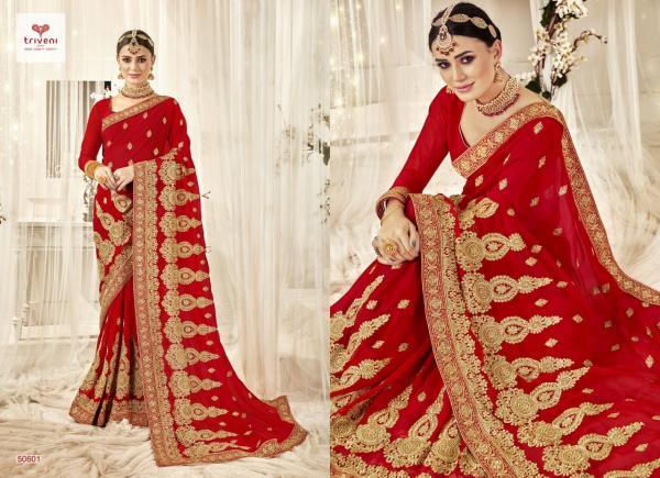 Triveni Saree Bandhan 50601-50608 Series