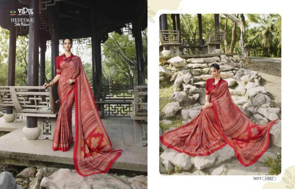 Vipul Fashion Heritage Silk Palace 41607-41624 Series