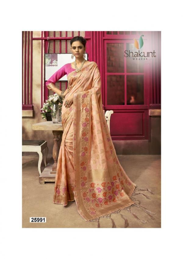 Shakunt Saree Smriti 25991-25994 Series