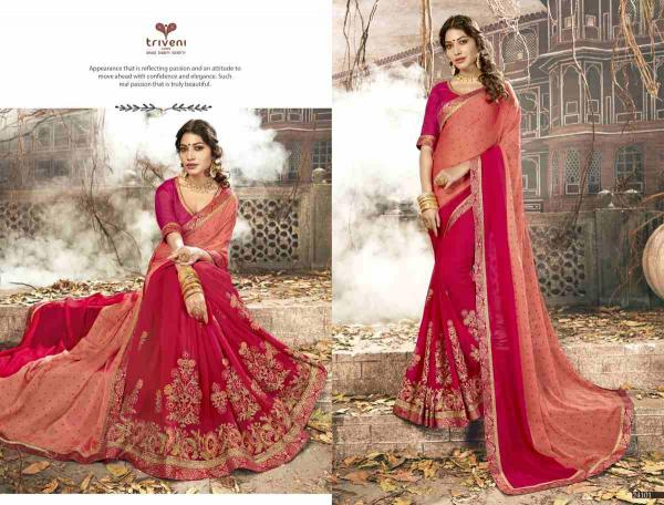 Triveni Saree Sulekha 24101-24108 Series