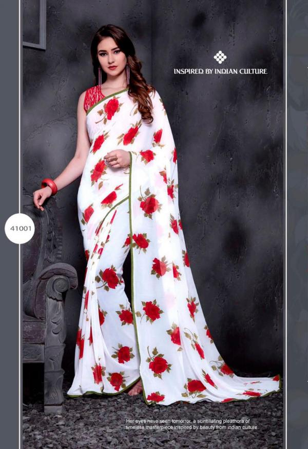 Priya Paridhi Snow White Vol-8 41001-41010 Series