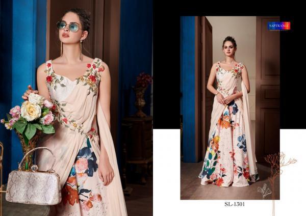 Saptrangi Ready Made Gown SL-1301 to SL-1306 Series