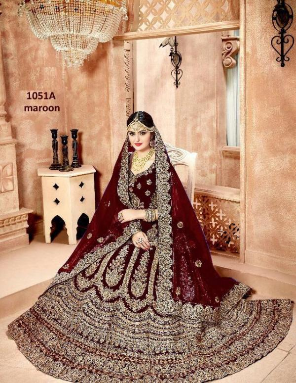 1051-A-B-Designer Party Wear Lehenga Choli
