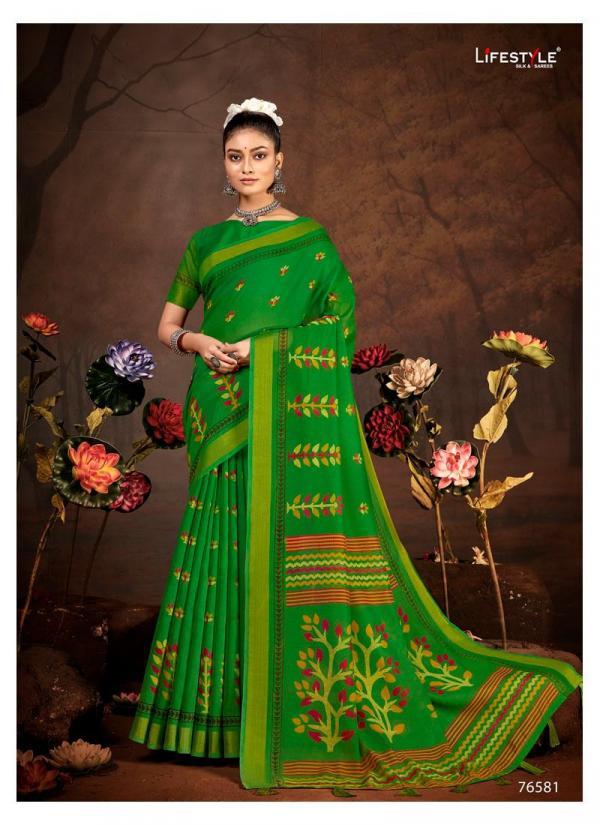 Lifestyle Saree Vivanta Cotton Vol-5 76581-76592 Series