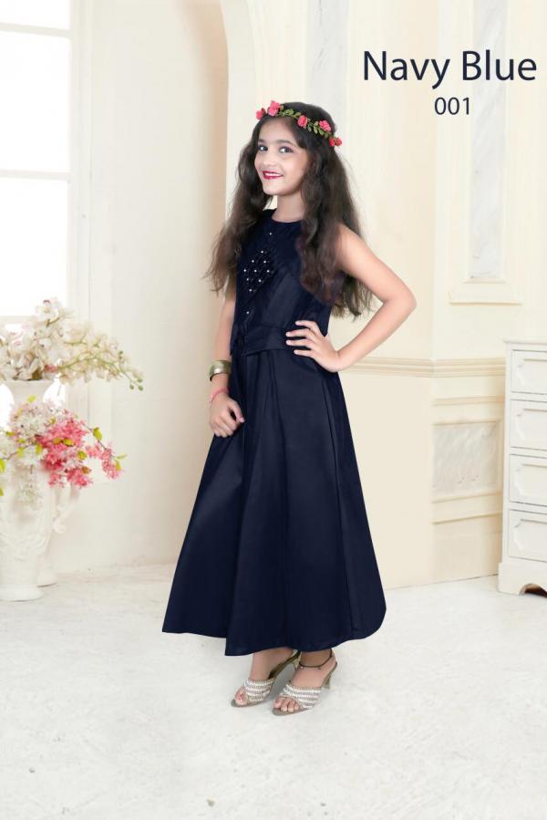 Nidhisha 01-04 Series Designer Kids Gown