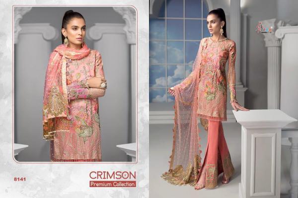 Shree Fabs Crimson Premium Collection 8141-8146 Series